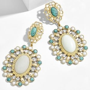 NEW BaubleBar Tasma Turquoise Drop Earrings